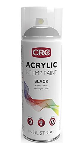 CRC 30483-AB - ACRYLIC PAINT ALTA TEMPERATURA. Anticalórica negra. Hasta 800ºC 400 ml