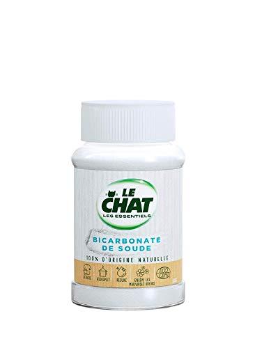 Le Chat Les Essentiels – Bicarbonate de Soude – Nettoyant Multi-Usages – 500g