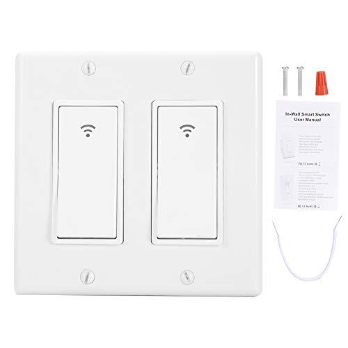 WiFi Smart Switch-1/2/3 Gang Smart WiFi Wall Light Switch Timer(2)