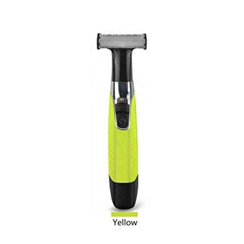Facial Hair Remover elektrische scheerapparaat Oplaadbare 2020 verbeterde versie Painless Grooming Kit Bikini Facial Trimmer, Facial Brush Pijnloos Epilator, Body Shaver (Color : Yellow)