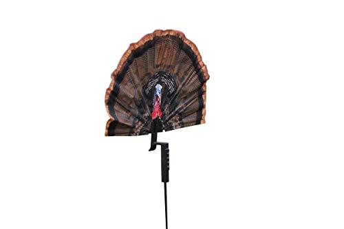 MOJO Outdoors Fatal Fan Turkey Hunting Decoy (Aggressive Jake Turkey Decoy)