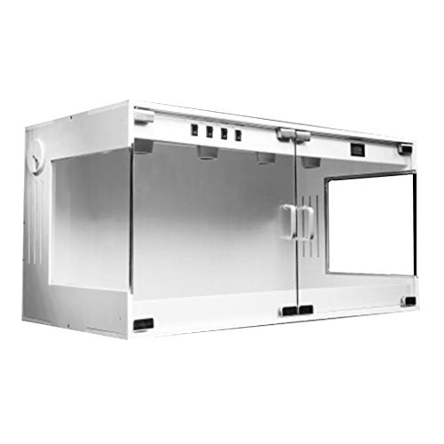 Gabbie Rana Spider Scorpion Box Watch Box-Pet Huishoudelijke terrarium, reproductie, verkeer tank, 80 * 40 * 40CM