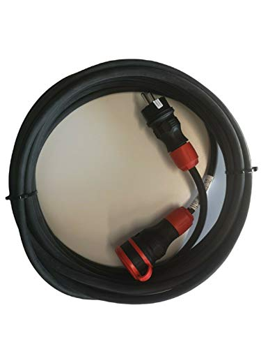 MRS H07RN-F 611220 - Cable alargador eléctrico (16 A, 230 V, Schuko,...
