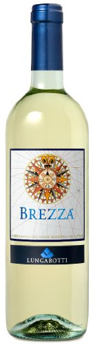 6 x Brezza Bianco dell´Umbria IGT tr. 2019 Lungarotti im Sparpack, trockener Weisswein aus Umbrien
