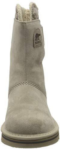Sorel NEWBIE, Damen Halbschaft Stiefel, Beige (Silver Sage 103), 38.5 EU - 2