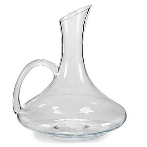 TU TENDENCIA ÚNICA Decantador de Vino de 1,5 L de Capacidad. De Vidrio Soda Glass. Muy Resistente