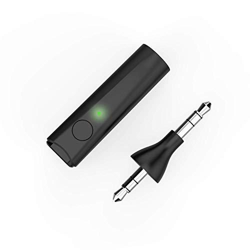 GAKOV Wireless Receiver, GA4849 tragbarer 5.0 Wireless Auto Adapter und Freisprecheinrichtung Mini Musik Adapter für zuhause/Auto Audio Musik Streaming Stereo System 3.5 mm (l)