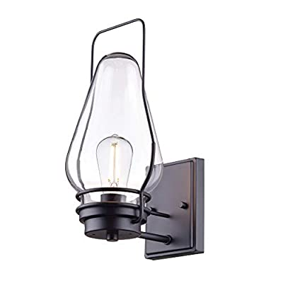 Globe Electric Helm Outdoor Wall Sconce