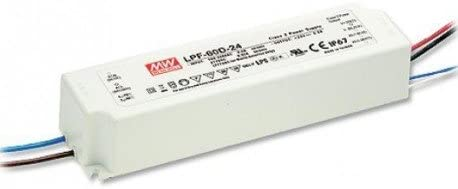 Meanwell LPF-60D-36 Power Supply - 60W 1.67A - Dimmable