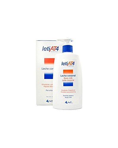 LetiAT4® leche corporal 500 ml Pieles atopicas o secas