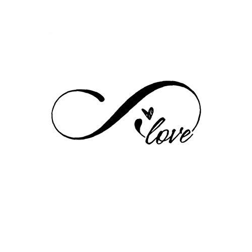 Nicedier Pared Tatuajes de Pared Doble Moda Amor del corazó Diseño Arte de la Etiqueta engomada Moderna Inicio Antecedentes de la decoración para el hogar Pegatinas de Pared