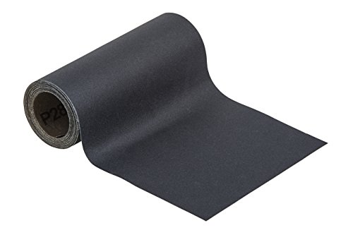 Wolfcraft 5814000 Schleifpapier Rolle, Nass/Trocken, Korn 280, schwarz