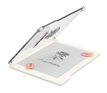 Bira Craft Easy Stamp Platform Tool for Accurate Craft Stamping  Stamp Tool