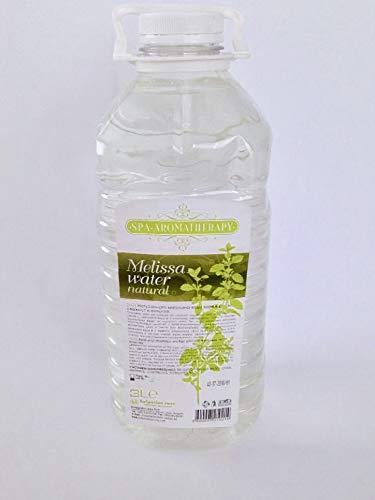 100% naturreines Melissenwasser/Gesichtswasser/Aromatherapie - 3 Liter