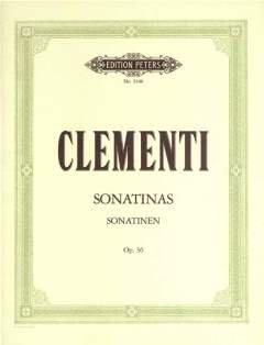 SONATINEN OP 36 - arrangiert für Klavier [Noten / Sheetmusic] Komponist: CLEMENTI MUZIO