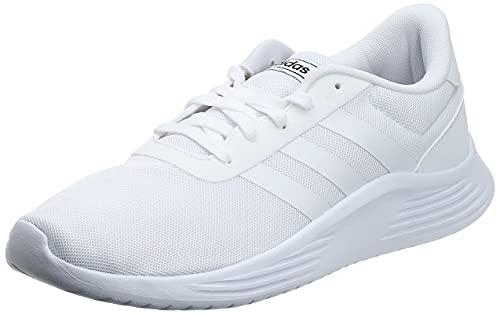 adidas Lite Racer 2.0, Sneaker Hombre, Footwear White/Footwear White/Core Black, 40 EU 🔥