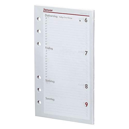 BSB 02-0058 Kalendarium TerminPlaner pocket A6 1 Woche auf 2 Seiten für Jahr 2021