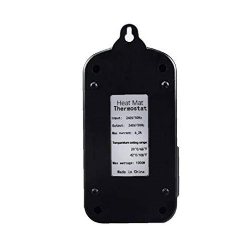 IUwnHceE Mat Calor del regulador de Temperatura del termostato Digital para el Acuario del Reptil de Semillas de germinación Herramientas elaboración de la Cerveza Industrial
