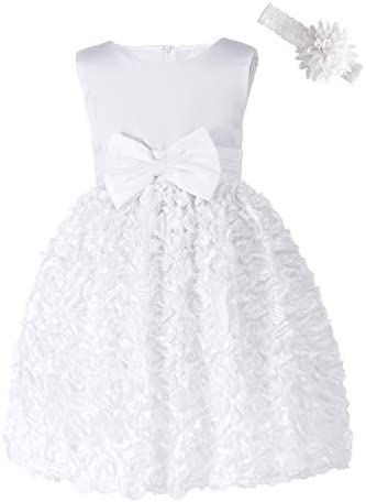 Baby Girls Embroideries Lace Flower Tutu Tulle Formal Birthday Wedding Party Gown Princess Dresses product image