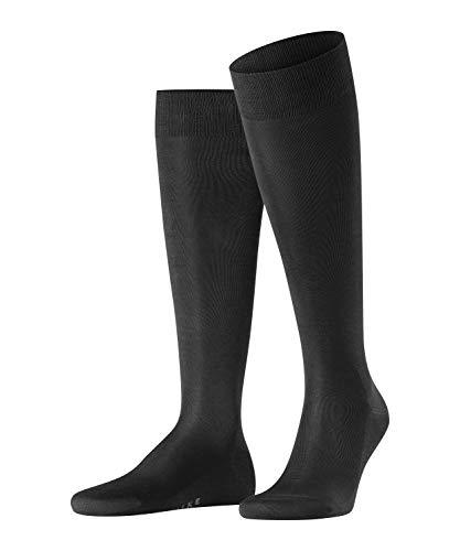 FALKE Tiago, Chaussettes Longues Homme, Coton, Noir (Black 3000), 41-42 (UK 7-8 Ι US 8-9), 1 Paire