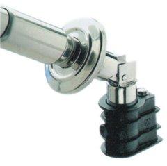 Well Solutions Leiterkippgelenk V2A 43 mm 1 Paar Einbauhülse Schwimmbad Pool Well Solutions®