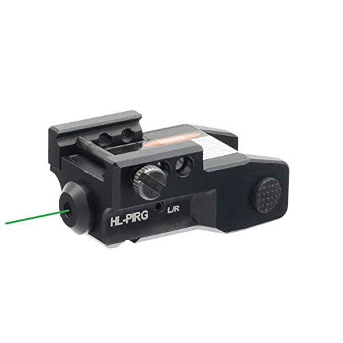 HiLight PIRG Pistol Green Laser Sight with IR Sensor Switch USB Rechargeable Battery for Subcompact Pistols