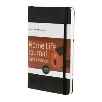 Moleskine Passion Journal - Homelife, Large, Hard Cover (5 x 8.25)