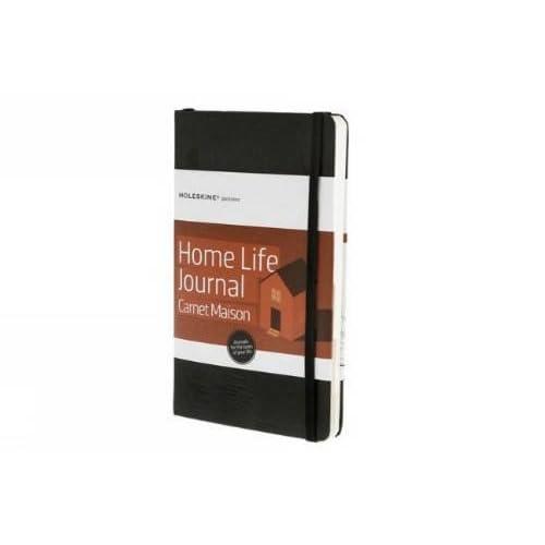 Moleskine Passion Journal Home Life Taccuino, Copertina Rigida, Nero
