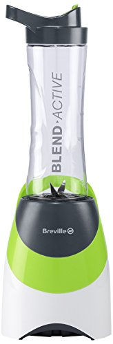 220-240 Volt/ 50 Hz, Breville BRVBL097X Blend- Active Sports Bottle Blender, FOR OVERSEAS USE ONLY, WILL NOT WORK IN THE US