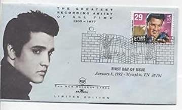 Elvis Presley First Day Of Issue January 8, 1993-Memphis, TN. 38101 Collector's Envelope with 29 Cents Collector's Stamp