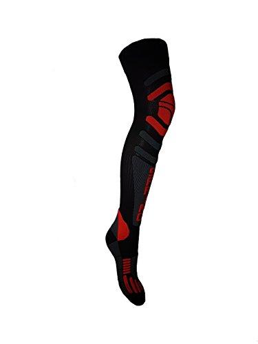 """Spring, calzettoni da Motocross/MTB, sopra al ginocchio, modello """"902 off road"""", serie """"4Seasons"""""""