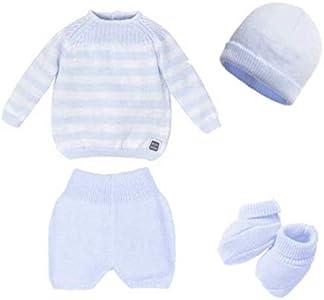 Minutus Primeros días bebé, Conjunto Cabrera (Azul Celeste)