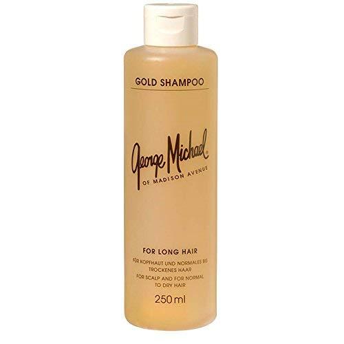 George Michael Gold Shampoo 250 ml Bei trockener, schuppender Kopfhaut und gegen Haarausfall