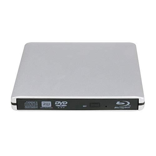 USB 3.0 and USB C External Aluminum Blue Ray DVD CD Writer Blu Ray DVD...