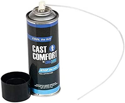 lowest Cast Comfort Stop Itching Spray, discount 6 Ounce 2 sale Pack (2 Pack) online
