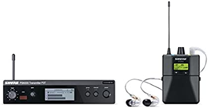 Shure PSM300 P3TRA215CL Pro Wireless Stereo Personal In-Ear Monitor System with SE215-CL Earphones