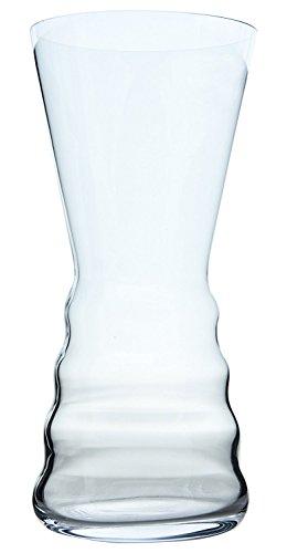 Cristal de Bohemia Aspetto Florero, Cristal, 14x14x30 cm
