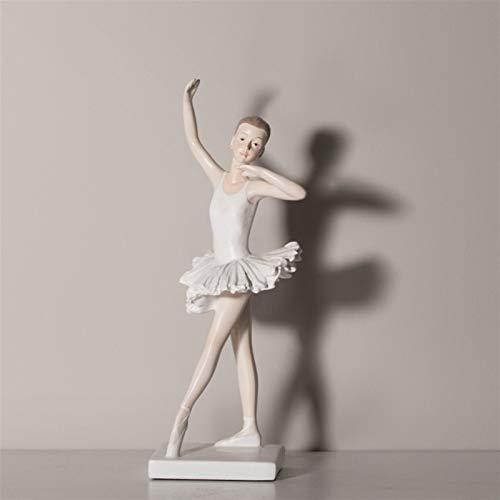 DNAMAZ Decoration Statues Ballerina Desktop Ornement...