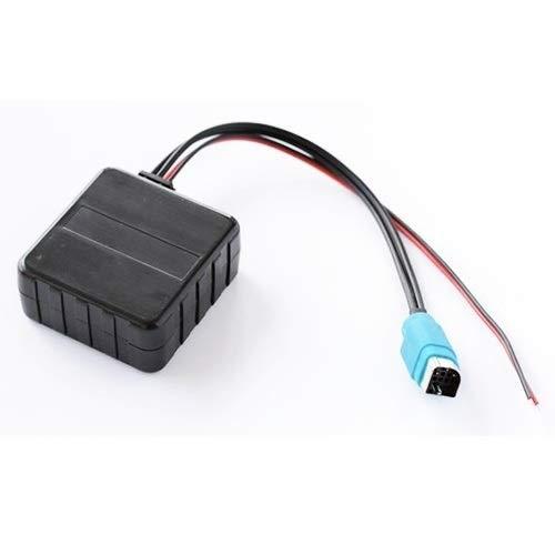 LUISONG FANMENGY Módulo de Fuente de alimentación de Cable Adaptador módulo Bluetooth inalámbrico for Coche de Audio AUX for el Alpine KCE-237B 123E 101E 102E 105E 117J 305S duraderos
