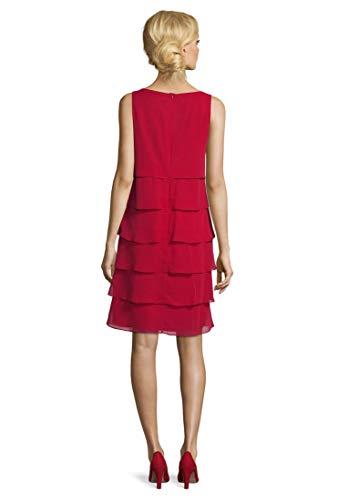 Vera Mont Sukienka damska, czerwony (Diva Red 4296), 42 PL