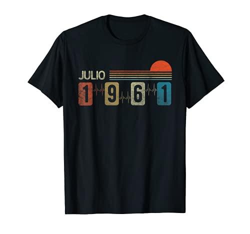 Julio 1961 Vintage - 60 años Regalo Cumpleaños Hombre Camiseta