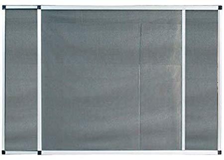 ZANZARIERA A TELAIO ESTENSIBILE MULTIDIREZIONALE BIANCO (Misura 50 x 50-92 cm.)