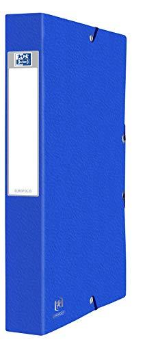 Elba 100200426 - Contenitore per Documenti, 24 x 32 cm, Blu