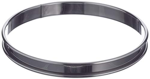 DE BUYER -3091.18N -cercle a tarte inox ht 2cmbd roule ø18