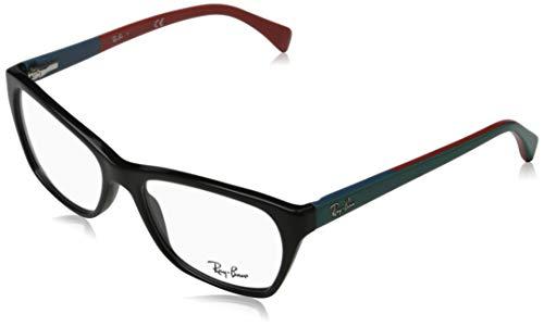 Ray-Ban Damen RX5298 Brillengestell, Schwarz (Negro), 55