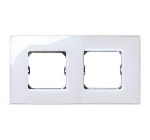 Simon - 27772-30 marco 2 elementos s-27 blanco neos brillante Ref. 6552730560