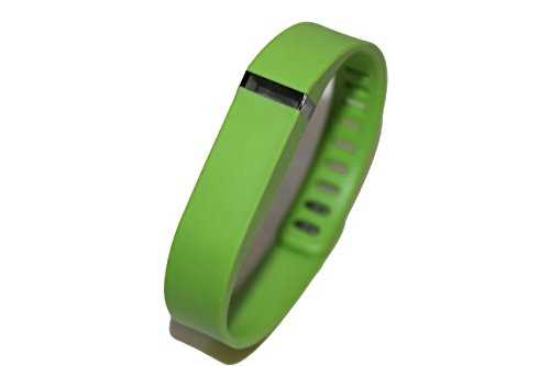 1pc Small Lime Green Wrist Band For Fitbit Flex Bracelet (With Clasp , No Tracker) Replacement Bands Wireless Fitness Accessories Tracking Exercise Sport Activity