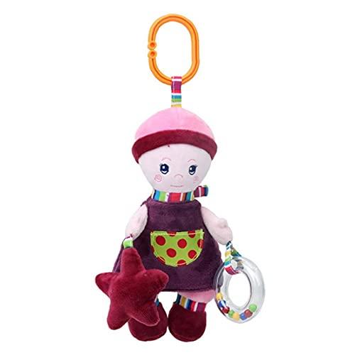 Juguete muñeca de regalo de la niña felpa Colgando del compinche del Snuggle Soft Play juguete 1pc, regalo de la niña