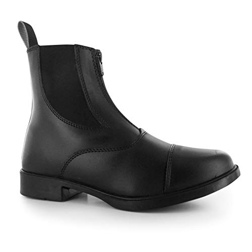Requisite, Damenstiefel, Modell Darwen, Reitschuhe, auch für Spaziergänge geeignet, schwarz - schwarz - Größe: 39 1/3 EU
