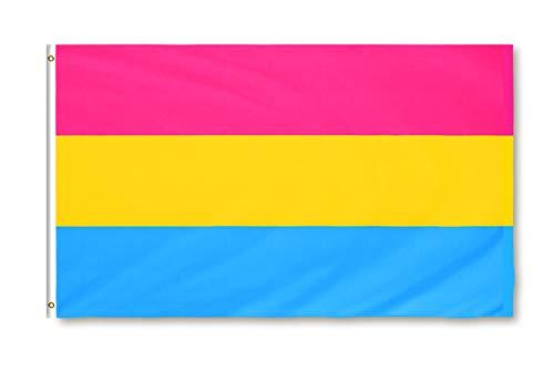 Star Cluster 90 x 150 cm LGBT/Flagge der Pansexuellen/Pansexual Pride Flag